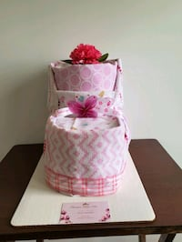 Diaper Cake Bootie for Baby Girl,  ready to sell!