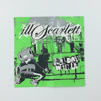 "IILSCARLETT ""ALL DAY WITH IT"" PROMO STICKER"