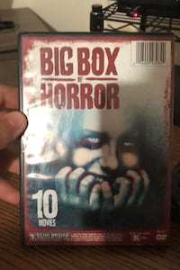 Big box of horror 10 movies in one disc new