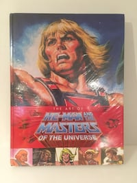He-Man Masters of the Universe artbook Mississauga, L5B