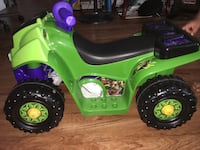 green and purple ATV ride-on toy Anaheim, 92802