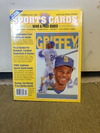 Allan Kaye's Sports Cards Magazine Number 8 July 1992 Ken Griffry Jr With Cards Winnipeg, R2Y 2G4