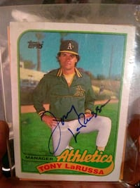 Baseball and football trading cards Tracy, 95304