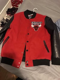 Red Chicago Bulls Jacket Muskegon, 49442