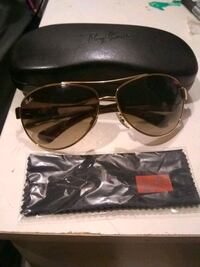 black framed sunglasses with case. Brand new.  Bloomington, 55425