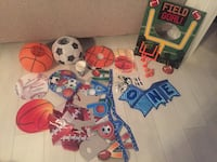 Sports theme party items Burnaby