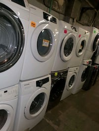 SALE ‼SAMSUNG front load Washer and dryer set working perfectly  Baltimore, 21223
