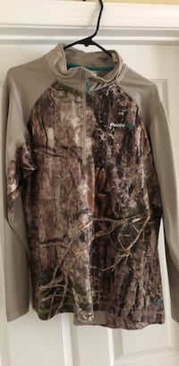 brown and black real tree camouflage jacket Fairfax, 22031