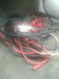 Two pair of jumper cables $5 for both Huntsville, 35802