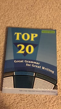 Top 20 great grammar college book Montgomery Village, 20886