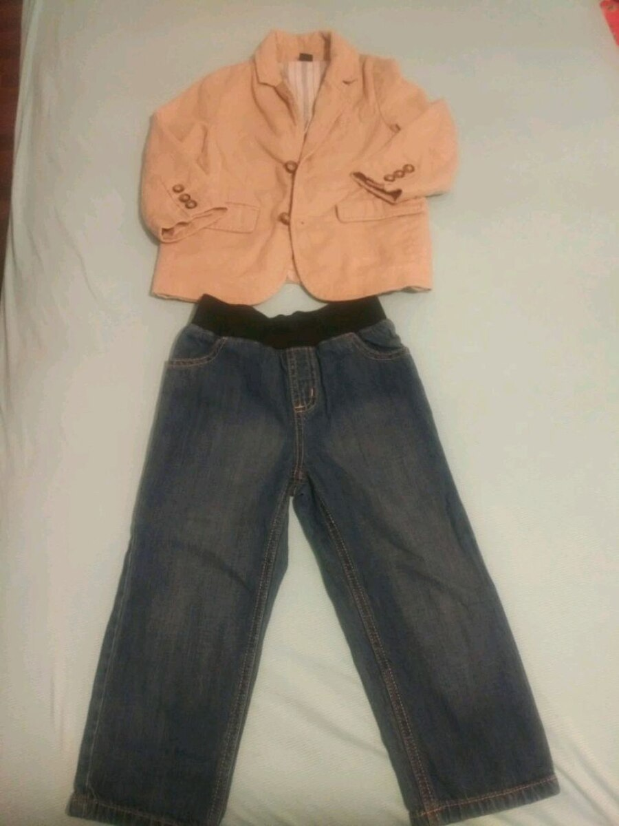 Photo 3T Baby Gap Jacket and Gymboree Jeans
