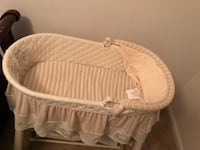 baby's white bassinet Washington, 20015