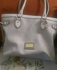 women's white leather tote bag Vancouver