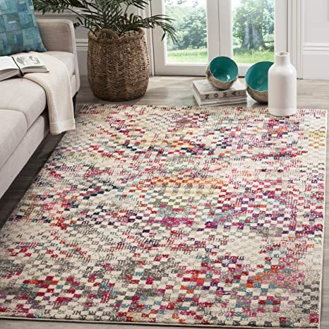 "Brand NEW Area Rug Safavieh Monaco rectangle 6'7""x9'2"" made in Turkey"