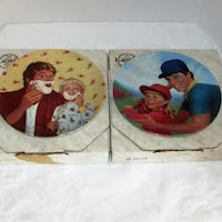 Offers?? 2 Collector Plates 1980's A Father's Love Mississauga, L4X 1S2