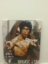 Bruce Lee portrait photo