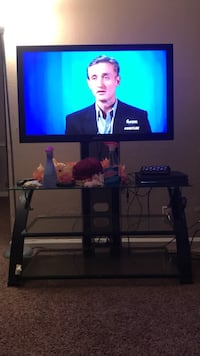 42 samsung tv with glass TV stand