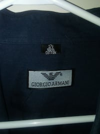 Giorgio Armani Sexy black dress shirt