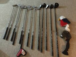 Golf clubs with golf bag - 13 pc youth set (Walter Hagen)