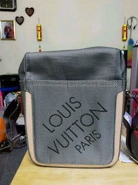 gray and black LV crossbody bag Vancouver, V5M 3X6