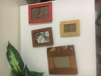 three brown wooden photo frames Germantown, 20874