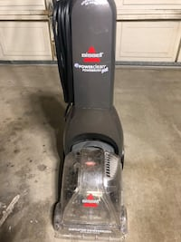 black Bissell upright vacuum cleaner Sacramento, 95827