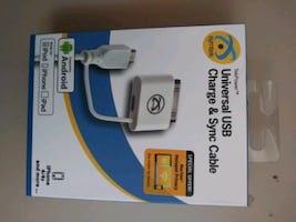 Universal USB Charge & Sync Cable