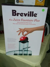 Breville the juice fountain plus box Hagerstown, 21740