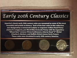 Early 20th Century Classics coins