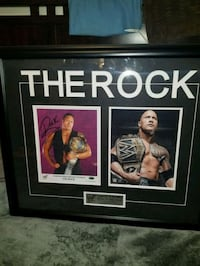 Wwe's the Rock signed & authenticated photo  Toronto, M1L 2T3