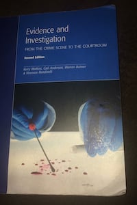 Emond evidence and investigation textbook second edition