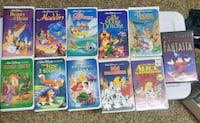 six assorted Disney VHS cases Pierre, 57501