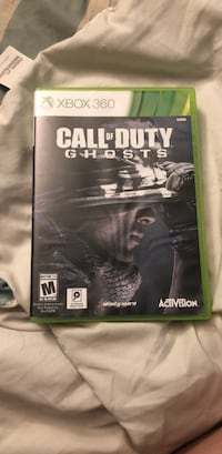 Call of duty ghosts xbox 360 game  Stafford, 22556