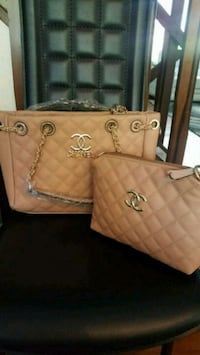 Pink fashion handbag set Falls Church, 22041