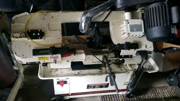 Used Jet Hvbs 7mw Horizontal Vertical Band Saw For Sale In Acworth