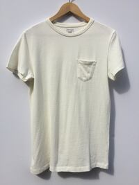 Benzak pocket tee off white heavy jersey London, SE22 9ND