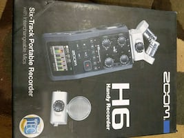 Zoom H6 interchangeable mic system