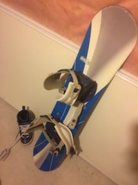 Snowboard 120 cm with binding and boots size 5 Courtice, L1E 3B5