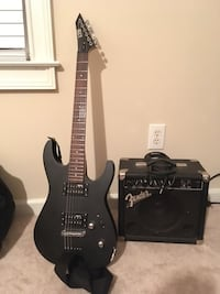 ELECTRIC GUITAR and AMP PACKAGE Columbia, 29212