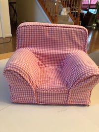 American Girl Doll Gingham Chair Bowie, 20720