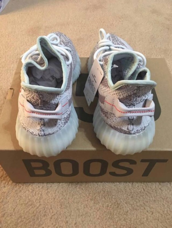 dbec19f52cfe7 Used blue tint Adidas Yeezy Boost 350 v2 Deadstock with box for sale in  Douglasville - letgo