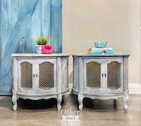 Pair of French Provincial side tables Toronto, M1M 2V3