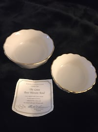 2 small Lenox candy dishes 20 km