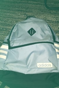 baby blue adidas backpack