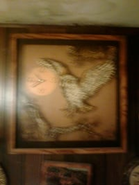 brown wooden framed photo of Owl Covington, 30016