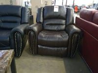 Brown leather power recliner sale Phoenix, 85018