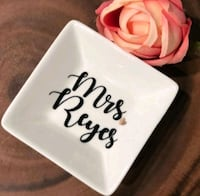 Personalized ring dishes (angular/square)  Toronto, M1C 4B6