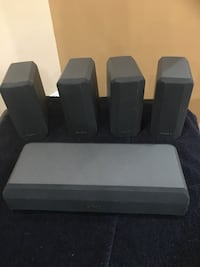 Grey and black sony speaker system College Park, 20740