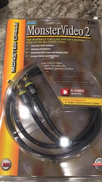 Monster Video S-Video Gold cable 5 ft
