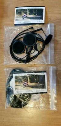 2 Motorcycle Intercoms New Westminster, V3M 1L8